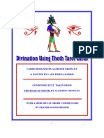 Divination using Thoth Tarot Cards