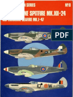 Aircam Aviation Series 8 - Supermarine Spitfire Mk.xii-24 Supermarine Seafire Mk.i-47
