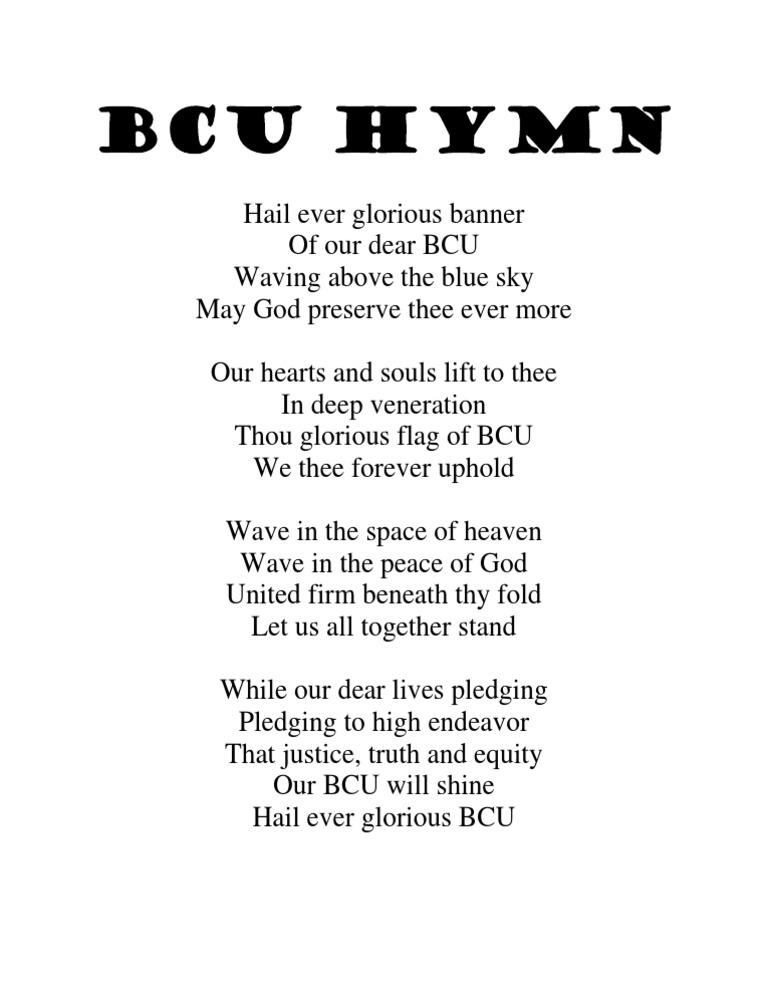 BCU HYMN