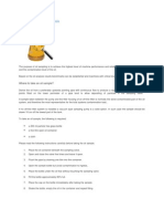 Oil Sampling and Oil Analysis