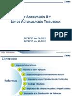 Ley Antievasion y Actualiza 2012