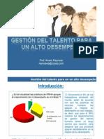 Gestion Del Talento Para Un Alto Desempeno -Sylllabus Del Curso