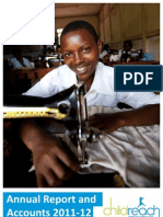 Childreach International Annual Report and Accounts 2011-12