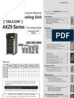 Manual-DAIKIN Oil Cooling Unit AKZ9 Series__AKZ9 Manual_English PIM00318_A