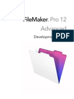 FileMaker Pro Advanced Development Guide