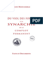 Moncomble Yann - Du viol des foules à la Synarchie ou le complot permanent