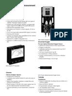 Fundamentals for Measurement and Control