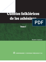 Cuentos folklóricos de los ashéninca. Tomo I