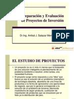 Primera Clase Proyectos. Ing ANIBAL