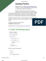 C Programming Puzzlers