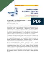 Riqueza e Ingresos ISO 26000