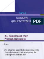 2.1 Numbers and Their Practical Applications