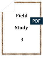 Field Study Activities 3