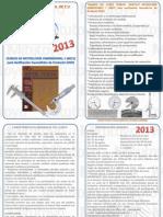 Metrologia Dimensional 1 2013