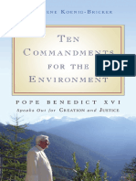 Ten Commandments for the Environment (excerpt)