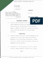Farina Lawsuit
