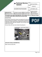 TSB 09-BE-023 (Z01 diode)