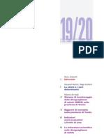 Punto Omega 19-20 - Il sistema di monitoraggio delle disuguaglianze di salute in provincia di Trento