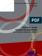 Political Islam Among the Albanians Are the Taliban Coming to the Balkans