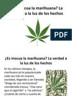 Es Inocua La Marihuana