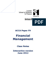 ACCA F9 LSBF Studynotes June2012