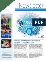Issue #2 Spring 2013 Newsletter