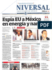 Portadas de Medios Nacionales 09-Julio-2013