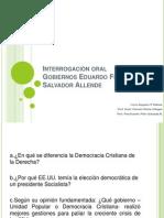 Interrogación oral Frei-Allende