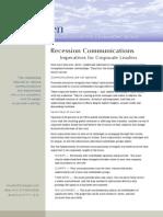 Recession Communications
