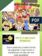 PALESTRA RIR É O MELHOR REMÉDIO.