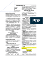 DSN 031-2007-MTC ModificanRNFerrocarriles Peruano