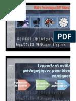 Supports Et Outils Pedagogiques Pour Bien Enseigner_soussi_imed_2007