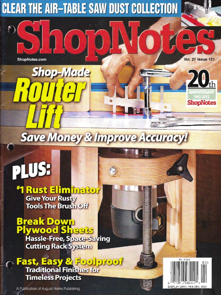 shopnotes magazine issue 121 pdf