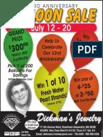 Diekmans Anniversary Balloon Sale