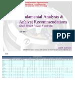 Fundamental Analysis & Analyst Recommendations - QMS Smart Power FlexIndex
