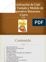 Trabajo Marketing Cafe Maranura( Final)