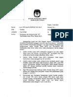 Surat KPU KAB-Penetapan dan Pengumuman DPT Pilgub 2013.docx