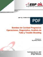 Trouble Shooting Bombeo de Cavidad Progresiva