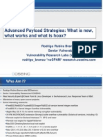 Advanced Payload Strategies What is New What Works and What4563