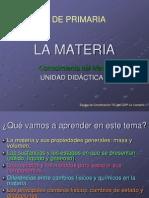 5 Ud 1 La Materia