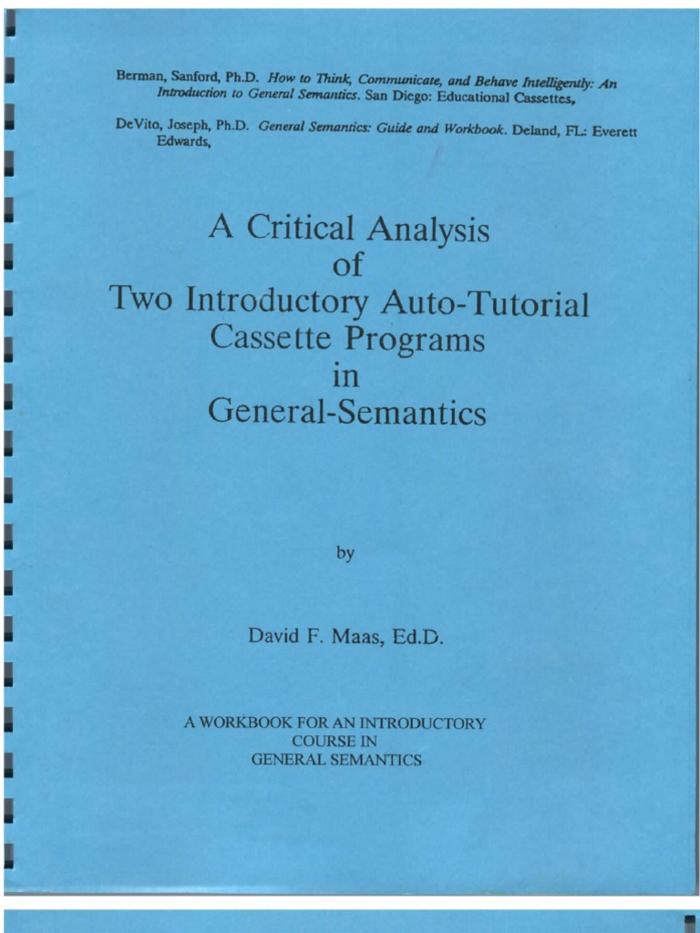 A Critical Analysis of Two Auto-Tutorial Programs in General ...
