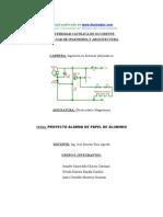Eb Proyectoalarmapapelaluminio