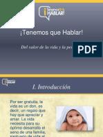 Presentacion_ TQH9_del Valor de La Vida y La Persona
