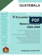 ENSMI MASCULINA 2008 2009
