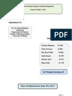 Development Report of philippine