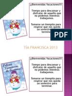 Tía Francisca 2013