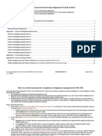 science framework alignment k-2 2013
