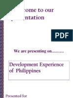Economic Experience of Philippines (Sec B) FINAL