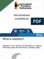 Herramientas estadísticas