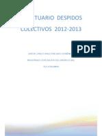 2013 06 Prontuario Despidos Colectivos Trabajo de c h Preciado